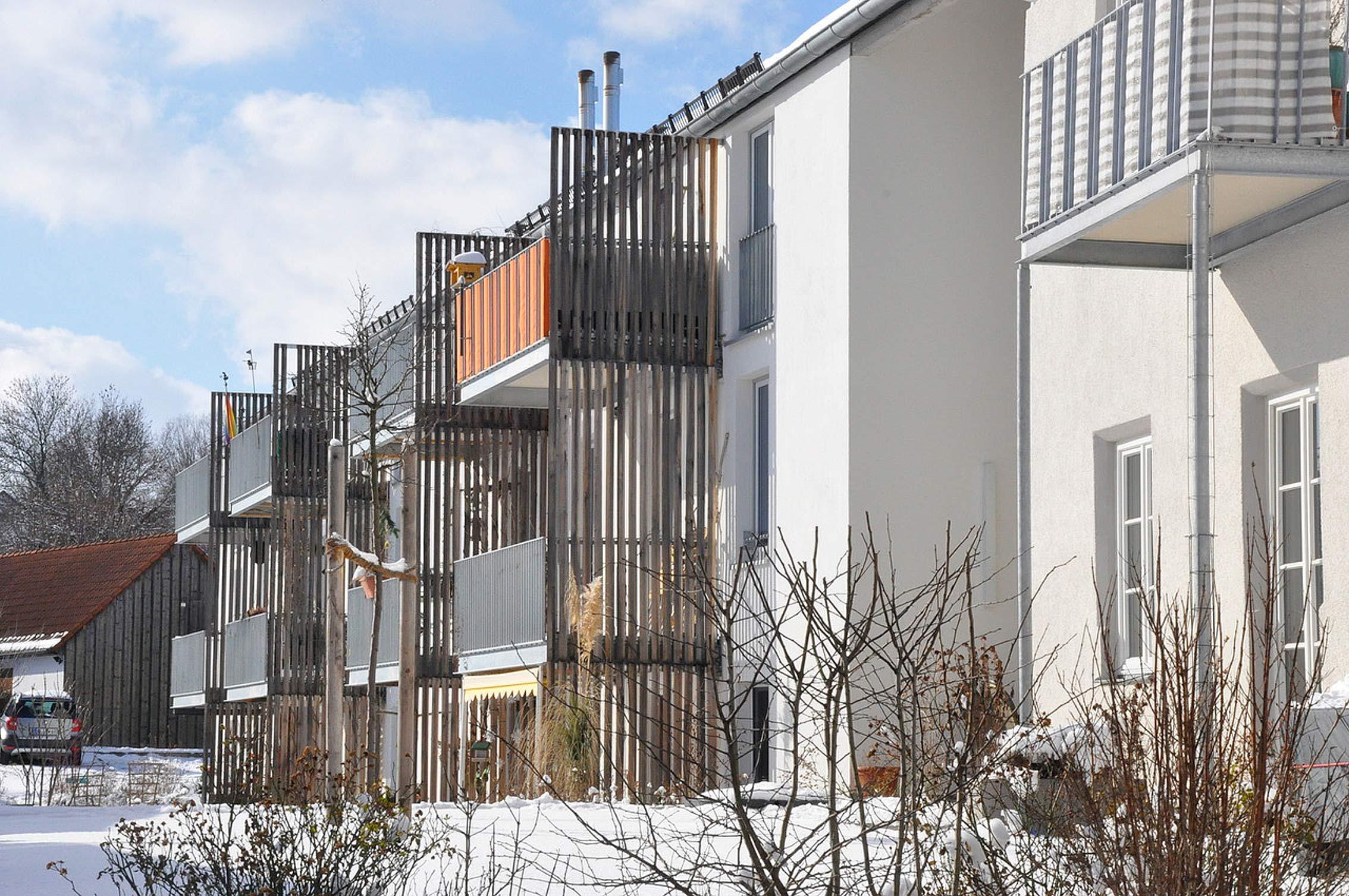 Windach: Architekt Sunder-Plassmann hat im Auftrag der Genossenschaft Maro ein Mehrgenerationenpprojekt umgesetzt